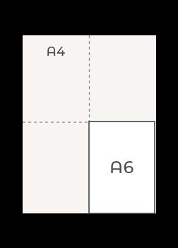 A6 (148 x 105 mm)