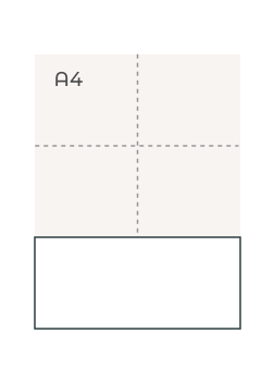 Segnalibro M (99 x 210 mm)